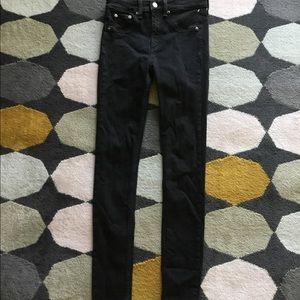 Rag and bone Women High Rise Skinny Jean: size 26